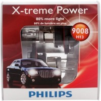 Philips-H13-9008-X-treme-Power-Headlight-Bulb-Pack-of-2-0